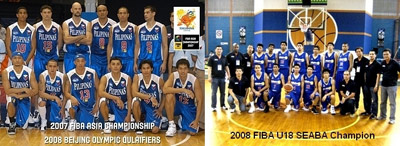 Philippines basketball national teams