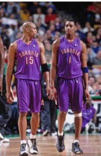 Tracy McGrady and Vince Carter