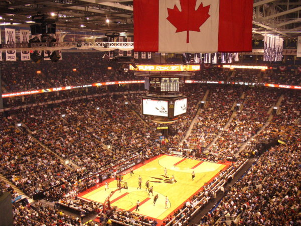 NBA Finals Home arena for the Toronto Raptors