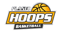 Hoop Hype Planet Hoops Basketball Logo